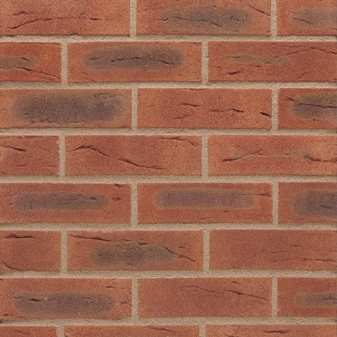 WIENERBERGER / BAGGERIDGE W115 BISQUE RED MULTI BRICK 65mm