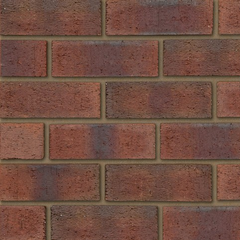IBSTOCK A0269A BURNTWOOD RED RUSTIC BRICK 65mm