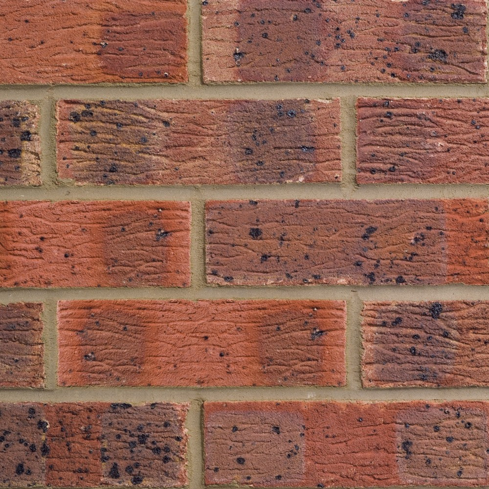 FORTERRA (HANSON) LBC CLAYDON RED MULTI BRICK 65mm