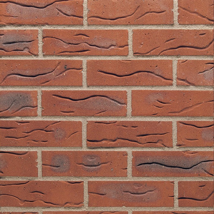 TERCA SANDOWN DRAYCOTT RED MULTI BRICK 65mm