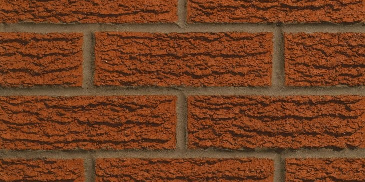 FORTERRA ACCRINGTON LANGWITH RED RUSTIC BRICK 65MM
