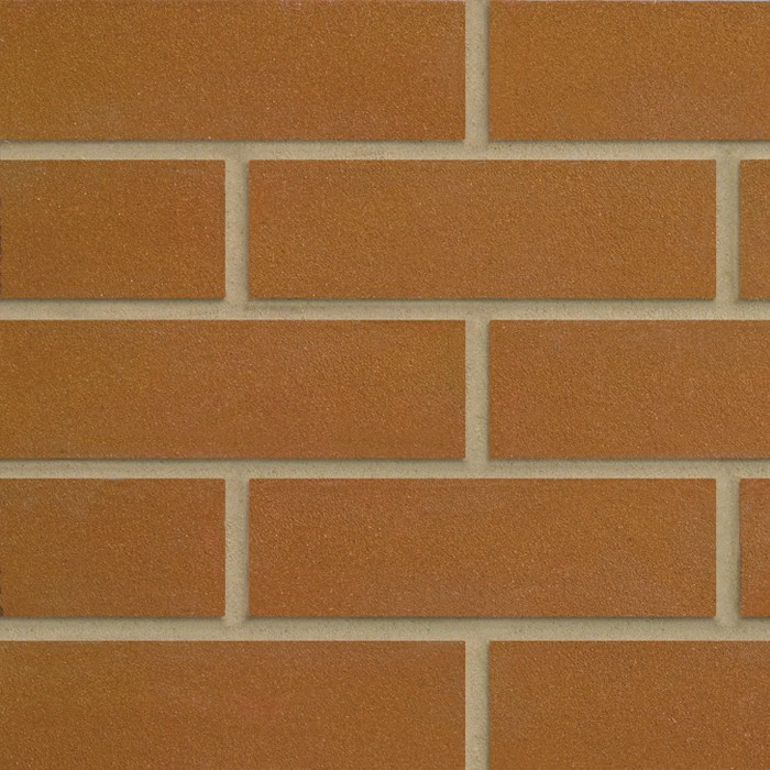 FORTERRA (HANSON) WILNECOTE GOLDEN BROWN SANDFACED BRICK 73mm