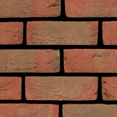 IBSTOCK A0176A GROSVENOR AUTUMN FLAME BRICK 65mm