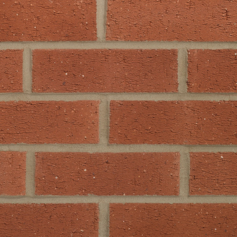 FORTERRA (HANSON) HEATHER NOTTINGHAM RED RUSTIC BRICK 65mm