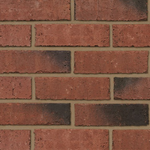 IBSTOCK A0585A PRIORY WEATHERED RED BRICK 65mm