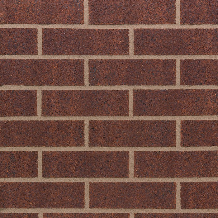 TERCA SANDOWN BURGUNDY BRICK 65mm  24190020