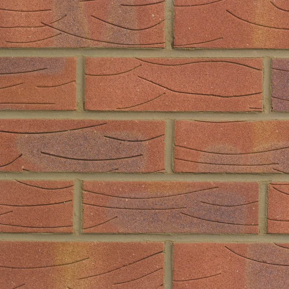 FORTERRA (HANSON) KIRTON SHERWOOD RED MIXTURE BRICK 65mm