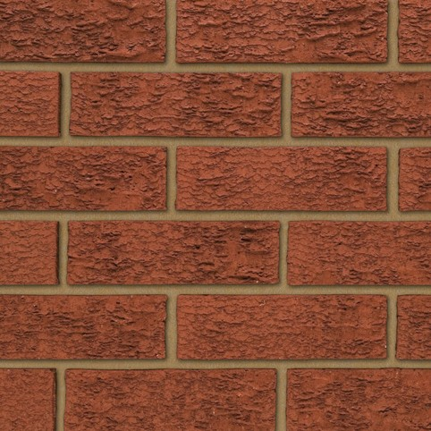 IBSTOCK A0333A STRATFORD RED RUSTIC BRICK 65mm