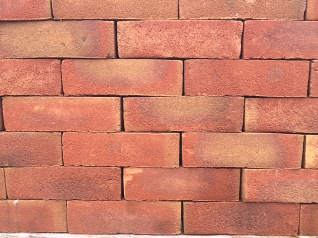 TERCA HEARTED FLASHED GILT OFFER BRICK 65mm