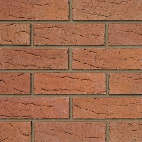 IBSTOCK A2709A THROCKLEY HADRIAN RED BRICK 65MM