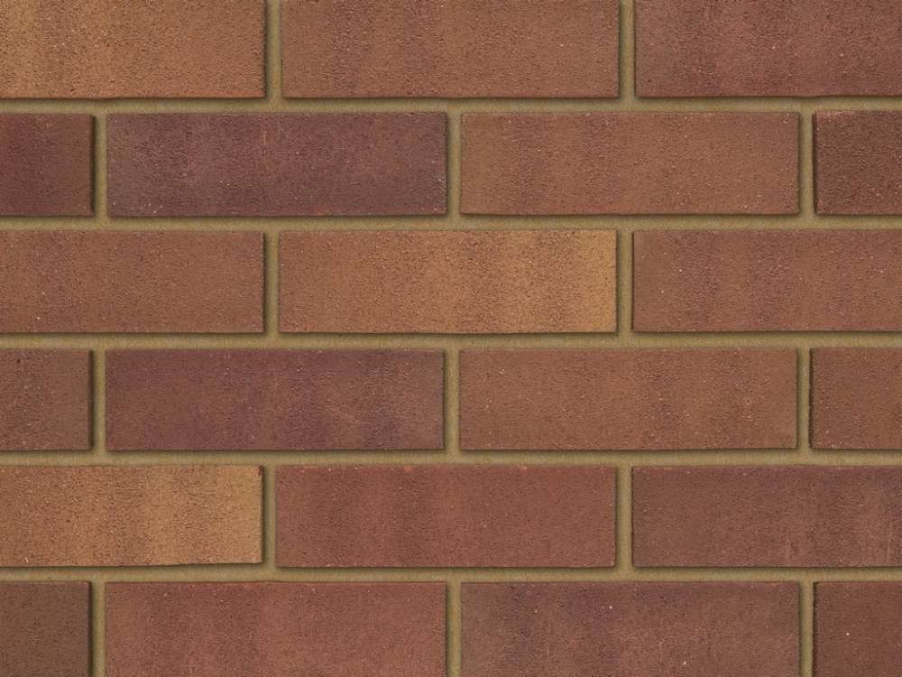 IBSTOCK A0381 TRADESMAN HEATHER BRICK 65MM
