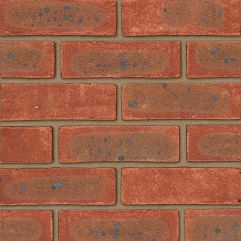 IBSTOCK A3055A WESTON RED MULTI STOCK BRICK 65mm