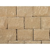 FORTICRETE 300 x 100 x 215mm BUFF ANSTONE PITCHED FACE WALLING