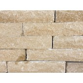FORTICRETE 300 X 100 X 65MM BUFF ANSTONE PITCHED FACE WALLING