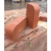 BLOCKLEYS BN1.2 SMOOTH RED SINGLE BULLNOSE 65mm