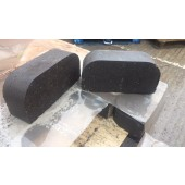BLOCKLEYS BN2.2 CHARCOAL DOUBLE BULLNOSE 65mm