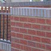 BLOCKLEYS WREKIN DARK RED MIXTURE BRICK 65mm