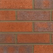 FORTERRA (HANSON) DARK MULTI RUSTIC BRICK 65mm