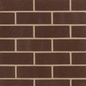 SWARLAND (denton) DARK BROWN SANDFACED BRICK 73mm