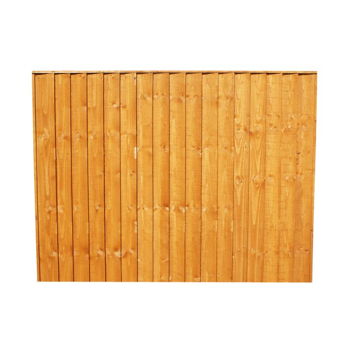 Fence Panel Vertical 6ft W X 4ft W 1 8m X 1 2m