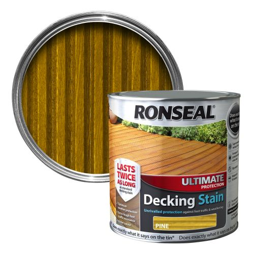Ronseal Ultimate Decking Stain 2.5ltr Pine