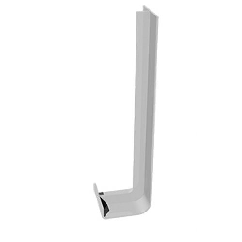 Freefoam FWJJ 600mm Square Double Joint White