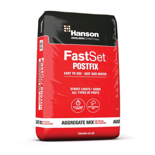 HANSON FAST SET POST FIX CONCRETE 20kg MAXIPACK