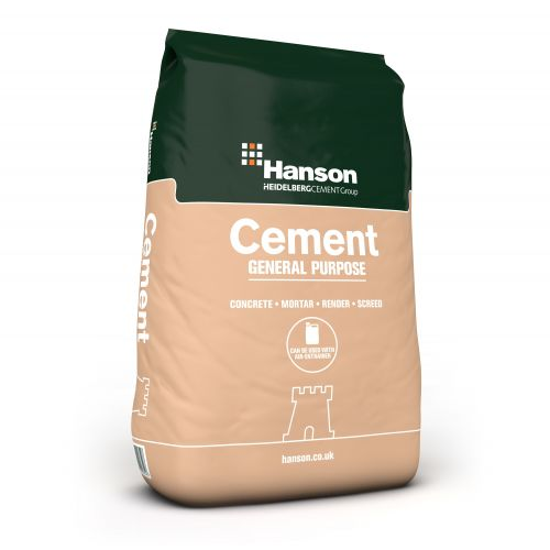 HANSON GENERAL PURPOSE CEMENT 32.5R 25kg BAG..