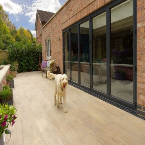 PAVESTONE CROSSWOOD PORCELAIN 1200 x 300mm 06123206 BUFF