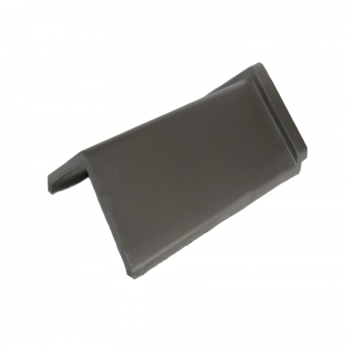 Redbank 285 Capped Ridge Tile black 450mm