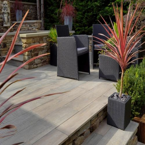 PAVESTONE CROSSWOOD PORCELAIN 1200 x 300mm 06123205 CINDER
