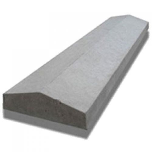 """SADDLE BACK CONCRETE COPING 5 x 24"""" COP106 TWICE WEATHERED"""