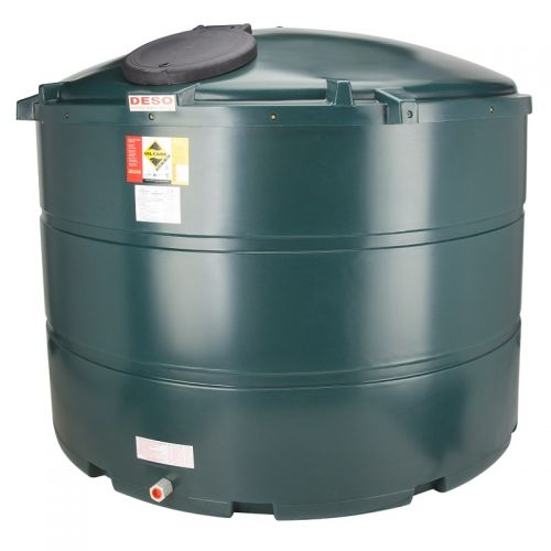 DESO V3500BTGK 3500l VERTICAL BUNDED OIL TANK INCLUDING SIGHT GAUGE AND KIT