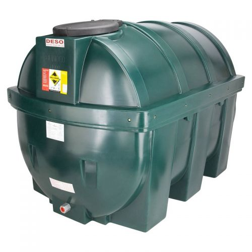 DESO H1800BTGK 1800l HORIZONTAL BUNDED OIL TANK INCLUDING SIGHT GAUGE AND KIT