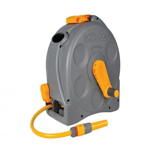Hozelock 2415 2-1 Compact Enclosed Reel with 25m Hose