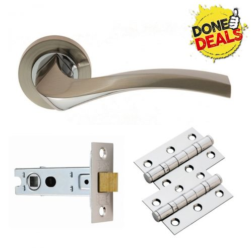 GK008SNCP/INTB SINES SATIN / CHROME LATCH PACK BOXED