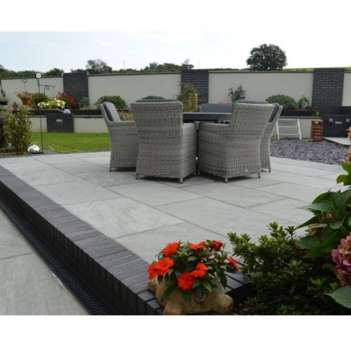PAVESTONE NATURAL STONE 290 x 290mm LIGHT GREY PREMIUM SELECT 01010004