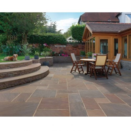 PAVESTONE NATURAL STONE 600 x 290mm RAJ BLEND PREMIUM SELECT 01009002