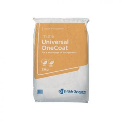 GYPSUM ONE COAT PLASTER BAG 25kg
