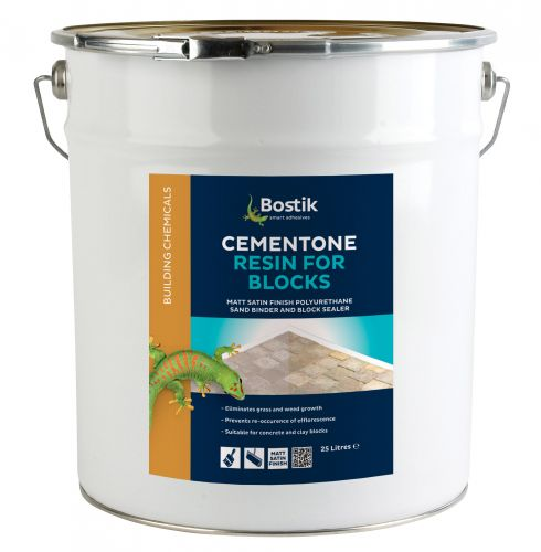 CEMENTONE RESIN FOR BLOCKS 25l MATT FINISH 30812555