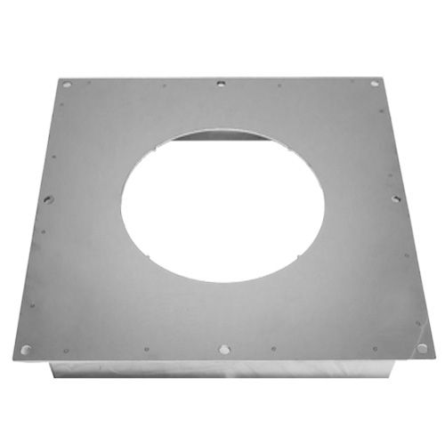 TWPRO 2-150-073 VENTILATED FIRESTOP PLATE 150mm WHITE