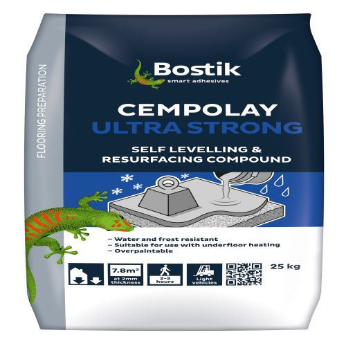 CEMENTONE CEMPOLAY ULTRA SELF LEVEL AND. RESURFACE COMPOUND 25kg 30812526 **BREAKS**