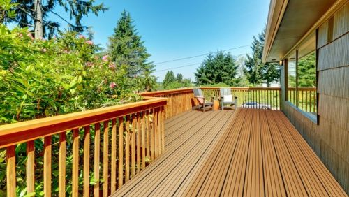 WITCHDECK HERITAGE COMPOSITE DECKING 150mm X 3.6m AGED OAK