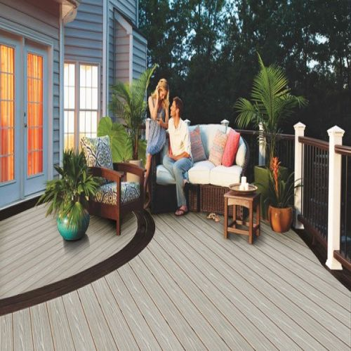 WITCHDECK HERITAGE COMPOSITE DECKING 150mm x 3.6m ASH WHITE