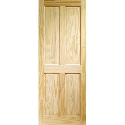 XL Joinery Internal 4 Panel Clear Pine Door