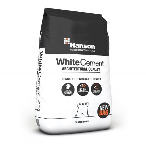 HANSON WHITE CEMENT 25kg BAG