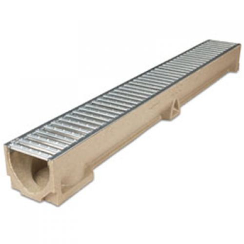 ACO RAINDRAIN CHANNEL C/W GALV GRATING 47000