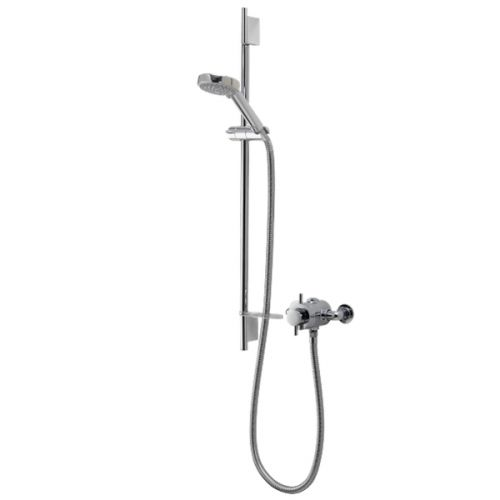 AQUALISA ASP001EA ASPIRE DL EXPOSED MIXER SHOWER WITH 105mm HARMONY HEAD