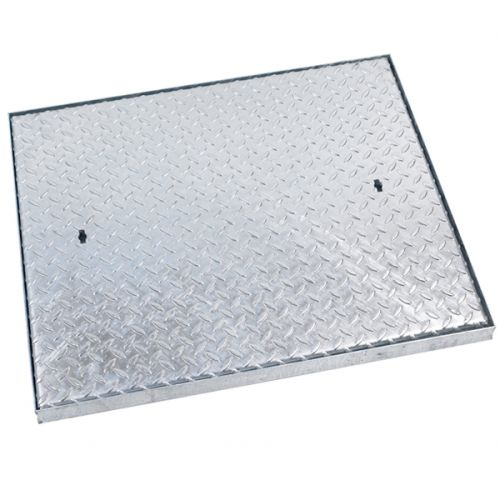 GALV MANHOLE COVER SINGLE SEAL 750 x 600mm 5 TONNE C9BG