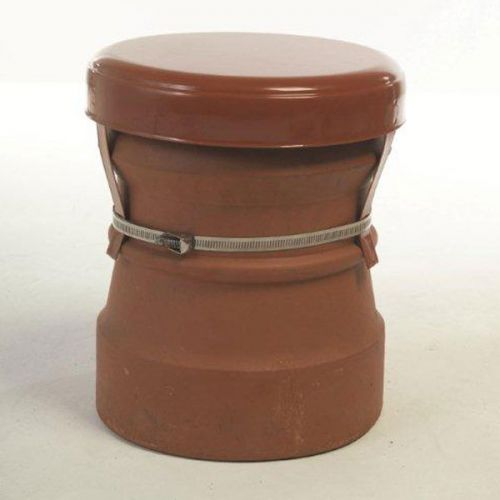 MAD CAPPING COWL & STRAP FIXING TERRACOTTA No 34